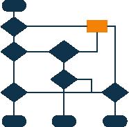 Met behulp van het eV-ict datamodel kan terug worden gegaan naar de brondata. Dit geeft diepgang