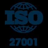 Certificering ISO-27001 is pending